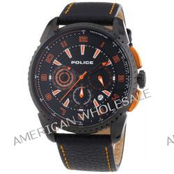 Police Herren-Armbanduhr XL FLARE Chronograph Quarz Leder P13648JSB-02B