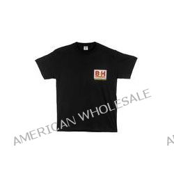 B&H Photo Video Web Logo T-Shirt (Small, Black) BHW-TBS B&H