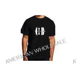 Leica  Lens T-Shirt (Small, White on Black) 94125 B&H Photo Video