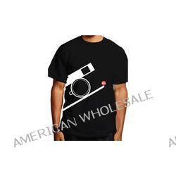 Leica Bauhaus T-Shirt (Small, White on Black) 94133 B&H Photo
