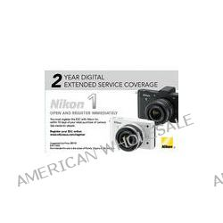 Nikon 2 Year Digital Extended Service Coverage for Nikon 1 11855