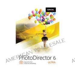 CyberLink PhotoDirector 6 Ultra (DVD) PTD-E600-RPU0-00 B&H Photo
