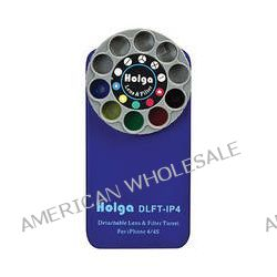 Holga Lens Filter and Case Kit for iPhone 4/4S (Blue) 400131 B&H