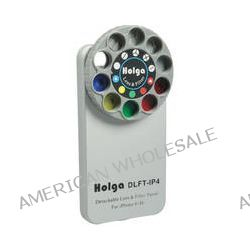 Holga Lens Filter and Case Kit for iPhone 4/4S (Silver) 400121
