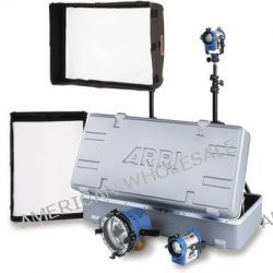 Arri Softbank D5 Tungsten Four Light Kit, Compact Case 571864