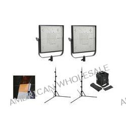 Litepanels 1x1 DL-Flood, DL-Spot Flypak 2-Light Kit B&H Photo
