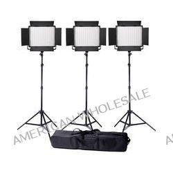 Ledgo Value Series LED Bi-Color Panel 900 3-Light Kit LG900CSC3