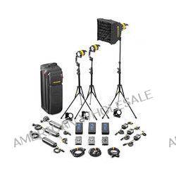 Dedolight DLED4.1-D Daylight LED 3-Light Standard Kit SLED3-D-S