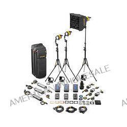 Dedolight DLED4.1-D Daylight LED 3-Light Master Kit SLED3-D-M