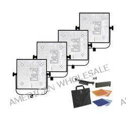 Litepanels 4 Light 1X1 Daylight Flood/Spot LED Light Kit B&H