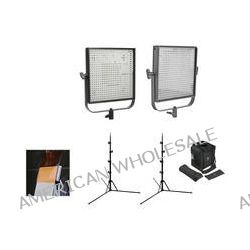 Litepanels 1x1 Bi-Color, Bi-Focus Flypak 2-Light Kit B&H Photo