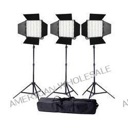 Ledgo Pro Series LED Daylight 600 3-Light Kit LG600S3 B&H Photo