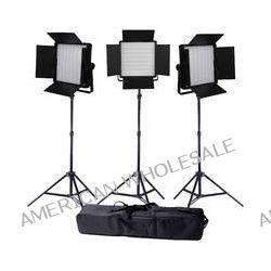 Ledgo Value Series LED Daylight 600 3-Light Kit LG600SC3 B&H