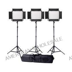 Ledgo Value Series Daylight LED Panel 900 3-Light Kit LG900SC3