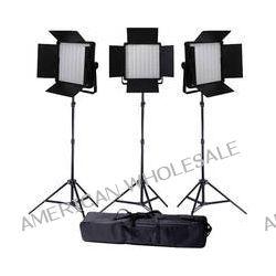 Ledgo Value Series LED Bi-Color Panel 600 3-Light Kit LG600CSC3