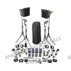 Dedolight DLED4.1-D Daylight LED 4-Light Master Kit SLED4-D-M