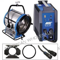 Arri Compact HMI 6000W Fresnel Light Kit (190-250V) B&H Photo