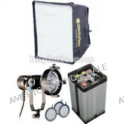 Dedolight Dedopar 400 Watt HMI 1 Light Hard Case Kit KPAR B&H