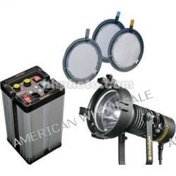 Dedolight Dedopar 400 Watt HMI 1 Light Hard Case Kit KPAR-1 B&H