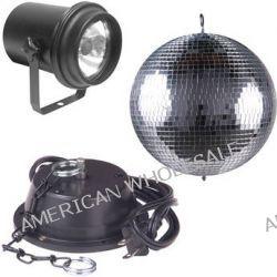 "American DJ 12"" Glass Mirror Ball with A/C Motor M-500L B&H"