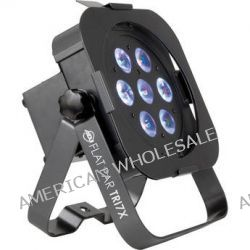 American DJ FLAT PAR TRI7 Low-profile LED PAR Can FLAT PAR TRI7X