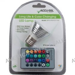American DJ ACCU-SSL MR16 RGB E27 PAK RGB LED MR16 RGB E27 PAK