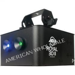American DJ Royal 3D II Blue/Green Laser Light ROYAL 3D II B&H