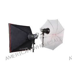 Interfit EX150 MKIII 2 Monolight Umbrella/Softbox Kit INT352 B&H