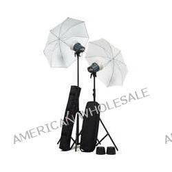 Elinchrom D-Lite RX One Flash Head Kit with Umbrellas EL 20844.2