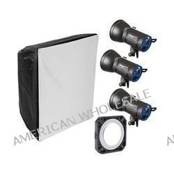 Hensel Integra Mini 900W/s 3-Light Kit with Chimera 7338370C B&H