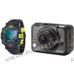 Coleman Bravo2 Action Camera with LCD Remote Control CX12WP+LCD