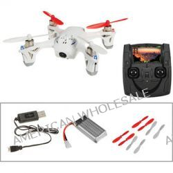 HUBSAN X4 H107D Quadcopter with Spare Battery, Props and B&H