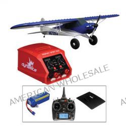 E-flite Carbon-Z Cub BNF Deluxe Kit with 9-Channel Transmitter,