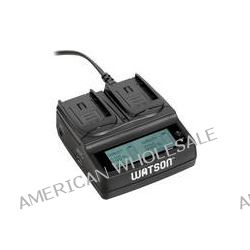 Watson Duo LCD Charger for VW-VBG6 Batteries D-3629 B&H Photo
