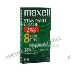 Maxell  STD-160 VHS Video Cassette 213010 B&H Photo Video