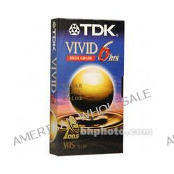 TDK  T-120VI Vivid VHS Tape 30120 B&H Photo Video