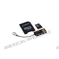 Kingston 64GB microSDXC Memory Card Kit with USB MBLY10G2/64GB