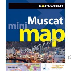 Muscat Mini Map by Explorer Publishing and Distribution, 9789948442981.