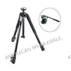 Manfrotto MT190X3 3-Section Tripod with 128RC Micro Fluid Head