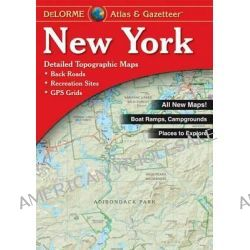 New York State Atlas and Gazetteer by DeLorme, 9780899332758.