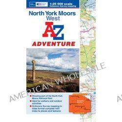 North York Moors (West) Adventure Atlas by Geographers' A-Z Map Company, 9781843489344.