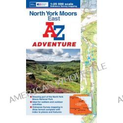 North York Moors (East) Adventure Atlas by Geographers' A-Z Map Company, 9781843489351.