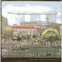 Scenes of Singapore, A Watercolour Album by Kwee Horng Foo, 9789814408363.
