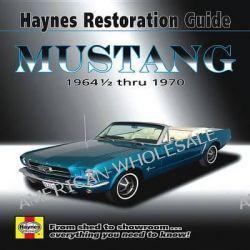 Mustang Restoration Guide, 1964 1/2 Thru 1970 by Jay Storer, 9781563929571.
