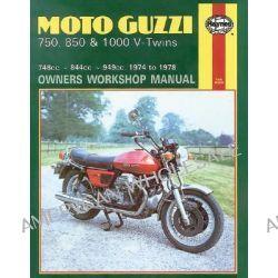 Moto Guzzi V-Twins Owner's Workshop Manual, Haynes Moto-Guzzi 750, 850 & 1000 V-Twins Owners Workshop Ma by Mansur Darlington, 9780856963391.