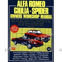 Alfa Romeo 1300, 1600, 1750, 2000 1962-78 Autobook, Easy to Use, Fully Illustrated, Comprehensive Guide to Repair and Maintenance by R M Clarke, 9780851461281.