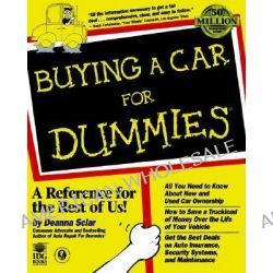 Buying a Car for Dummies by Deanna Sclar, 9780764550911.