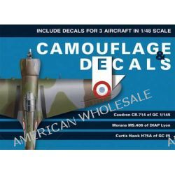 Camouflage & Decals, 1/48th Scale Edition v. 1 by Bartlomiej Belcarz, 9788361421313.