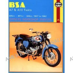 B. S. A. A7 and A10 Twins Owner's Workshop Manual, '47-'62 by Jeff Clew, 9780856961212.