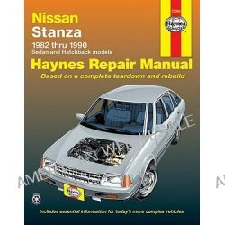 Datsun, Nissan Stanza, 1982-1990 by Peter G. Strasman, 9781850106760.
